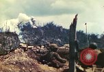 Image of U.S. Army 710th Tank Battalion Peleliu Palau Islands, 1944, second 15 stock footage video 65675063842