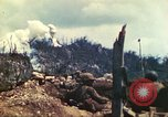 Image of U.S. Army 710th Tank Battalion Peleliu Palau Islands, 1944, second 16 stock footage video 65675063842