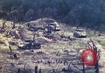 Image of U.S. Army 710th Tank Battalion Peleliu Palau Islands, 1944, second 25 stock footage video 65675063842