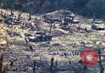 Image of U.S. Army 710th Tank Battalion Peleliu Palau Islands, 1944, second 28 stock footage video 65675063842
