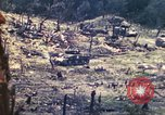 Image of U.S. Army 710th Tank Battalion Peleliu Palau Islands, 1944, second 29 stock footage video 65675063842