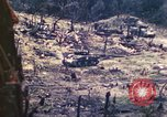 Image of U.S. Army 710th Tank Battalion Peleliu Palau Islands, 1944, second 31 stock footage video 65675063842