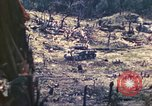 Image of U.S. Army 710th Tank Battalion Peleliu Palau Islands, 1944, second 34 stock footage video 65675063842