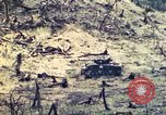 Image of U.S. Army 710th Tank Battalion Peleliu Palau Islands, 1944, second 37 stock footage video 65675063842