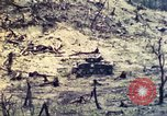 Image of U.S. Army 710th Tank Battalion Peleliu Palau Islands, 1944, second 40 stock footage video 65675063842