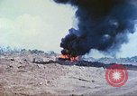 Image of Japanese artillery fires at U.S. tanks Iwo Jima, 1945, second 9 stock footage video 65675063846