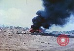 Image of Japanese artillery fires at U.S. tanks Iwo Jima, 1945, second 10 stock footage video 65675063846