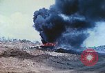 Image of Japanese artillery fires at U.S. tanks Iwo Jima, 1945, second 15 stock footage video 65675063846