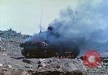 Image of Japanese artillery fires at U.S. tanks Iwo Jima, 1945, second 19 stock footage video 65675063846
