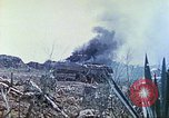Image of Japanese artillery fires at U.S. tanks Iwo Jima, 1945, second 25 stock footage video 65675063846