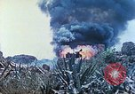 Image of Japanese artillery fires at U.S. tanks Iwo Jima, 1945, second 34 stock footage video 65675063846