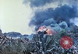 Image of Japanese artillery fires at U.S. tanks Iwo Jima, 1945, second 36 stock footage video 65675063846