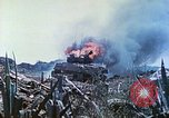 Image of Japanese artillery fires at U.S. tanks Iwo Jima, 1945, second 43 stock footage video 65675063846