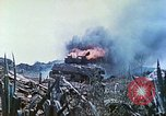 Image of Japanese artillery fires at U.S. tanks Iwo Jima, 1945, second 44 stock footage video 65675063846