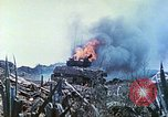Image of Japanese artillery fires at U.S. tanks Iwo Jima, 1945, second 46 stock footage video 65675063846
