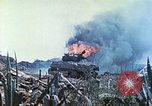 Image of Japanese artillery fires at U.S. tanks Iwo Jima, 1945, second 47 stock footage video 65675063846