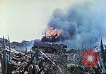 Image of Japanese artillery fires at U.S. tanks Iwo Jima, 1945, second 48 stock footage video 65675063846