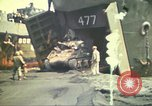 Image of 3rd Marine Division tanks come ashore  Iwo Jima, 1945, second 7 stock footage video 65675063851