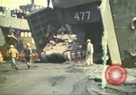 Image of 3rd Marine Division tanks come ashore  Iwo Jima, 1945, second 8 stock footage video 65675063851