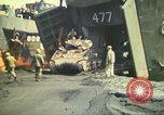 Image of 3rd Marine Division tanks come ashore  Iwo Jima, 1945, second 9 stock footage video 65675063851
