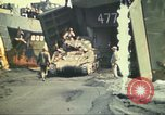Image of 3rd Marine Division tanks come ashore  Iwo Jima, 1945, second 11 stock footage video 65675063851