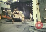 Image of 3rd Marine Division tanks come ashore  Iwo Jima, 1945, second 14 stock footage video 65675063851