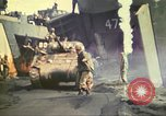 Image of 3rd Marine Division tanks come ashore  Iwo Jima, 1945, second 18 stock footage video 65675063851