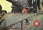 Image of 3rd Marine Division tanks come ashore  Iwo Jima, 1945, second 32 stock footage video 65675063851
