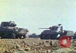 Image of 3rd Marine Division Sherman tanks fire at Japanese positions Iwo Jima, 1945, second 19 stock footage video 65675063852