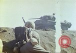 Image of 3rd Marine Division Sherman tanks fire at Japanese positions Iwo Jima, 1945, second 41 stock footage video 65675063852