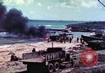 Image of 4th Tank Battalion Tinian Island Mariana Islands, 1944, second 14 stock footage video 65675063859