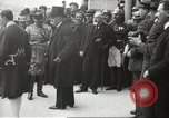 Image of Woodrow Wilson France, 1919, second 54 stock footage video 65675064453