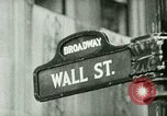 Image of Financial district in New York City New York United States USA, 1924, second 1 stock footage video 65675065215