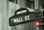Image of Financial district in New York City New York United States USA, 1924, second 2 stock footage video 65675065215