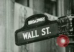 Image of Financial district in New York City New York United States USA, 1924, second 3 stock footage video 65675065215