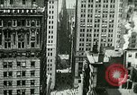 Image of Financial district in New York City New York United States USA, 1924, second 7 stock footage video 65675065215