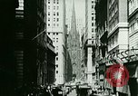 Image of Financial district in New York City New York United States USA, 1924, second 10 stock footage video 65675065215