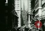 Image of Financial district in New York City New York United States USA, 1924, second 12 stock footage video 65675065215