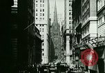 Image of Financial district in New York City New York United States USA, 1924, second 13 stock footage video 65675065215