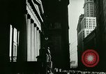 Image of Financial district in New York City New York United States USA, 1924, second 15 stock footage video 65675065215