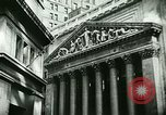 Image of Financial district in New York City New York United States USA, 1924, second 20 stock footage video 65675065215