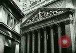 Image of Financial district in New York City New York United States USA, 1924, second 22 stock footage video 65675065215