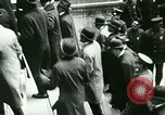 Image of Financial district in New York City New York United States USA, 1924, second 29 stock footage video 65675065215