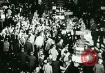Image of Financial district in New York City New York United States USA, 1924, second 37 stock footage video 65675065215