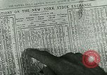 Image of Stock market craze  United States USA, 1928, second 14 stock footage video 65675065250