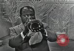 Image of Louis Armstrong United States USA, 1969, second 49 stock footage video 65675066559