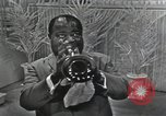 Image of Louis Armstrong United States USA, 1969, second 51 stock footage video 65675066559