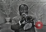 Image of Louis Armstrong United States USA, 1969, second 52 stock footage video 65675066559