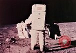 Image of Apollo 11 astronauts first humans on moon Florida United States USA, 1969, second 21 stock footage video 65675067953