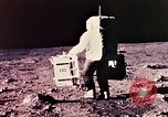 Image of Apollo 11 astronauts first humans on moon Florida United States USA, 1969, second 25 stock footage video 65675067953